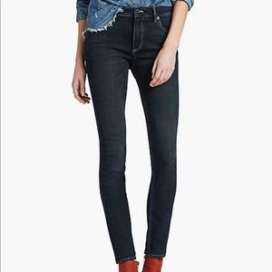 Lucky Brand high rise ankle skinny jeans